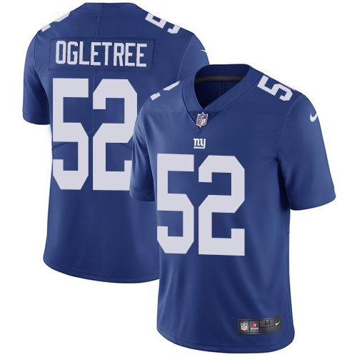 Nike Giants 52 Alec Ogletree Royal Youth Vapor Untouchable Limited Jersey