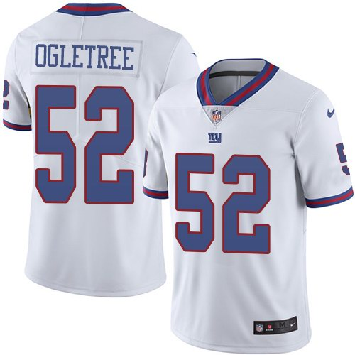 Nike Giants 52 Alec Ogletree White Youth Color Rush Limited Jersey
