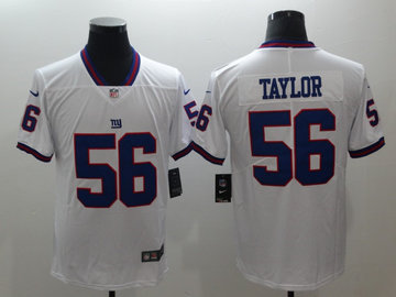 Nike Giants 56 Lawrence Taylor Color Rush Limited Jersey
