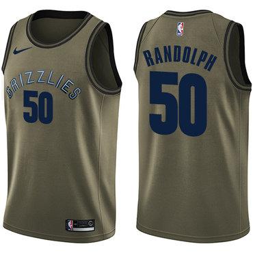 Nike Grizzlies #50 Zach Randolph Green Salute to Service NBA Swingman Jersey