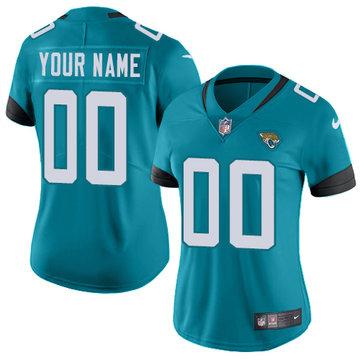 Nike Jacksonville Jaguars Limited Teal Green Alternate Women's Jersey NFL  Vapor Untouchable Customized jerseys
