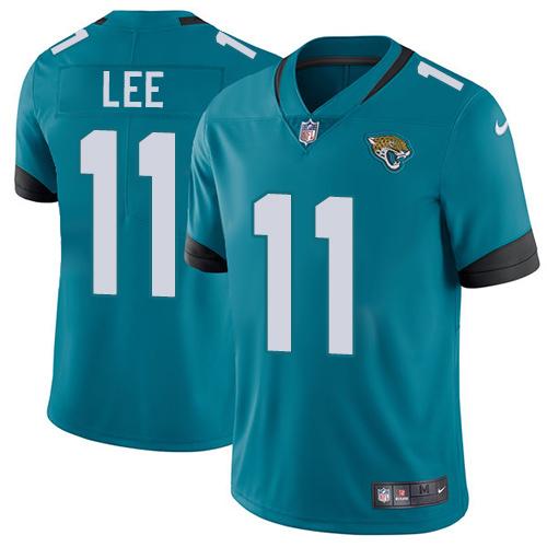 Nike Jaguars #11 Marqise Lee Teal Green Alternate Men's Stitched NFL Vapor Untouchable Limited Jersey