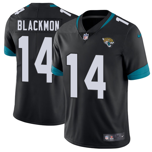 Nike Jaguars #14 Justin Blackmon Black Team Color Men's Stitched NFL Vapor Untouchable Limited Jersey