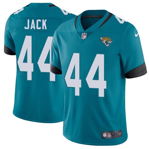 Nike Jaguars #44 Myles Jack Teal Green Alternate Men's Stitched NFL Vapor Untouchable Limited Jersey