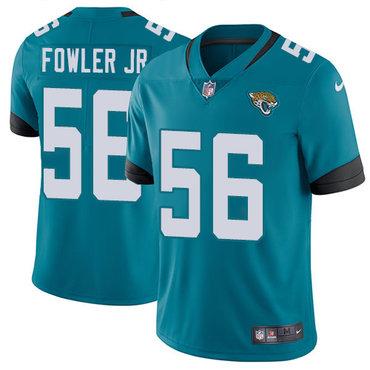 Nike Jaguars #56 Dante Fowler Jr Teal Green Team Color Youth Stitched NFL Vapor Untouchable Limited Jersey