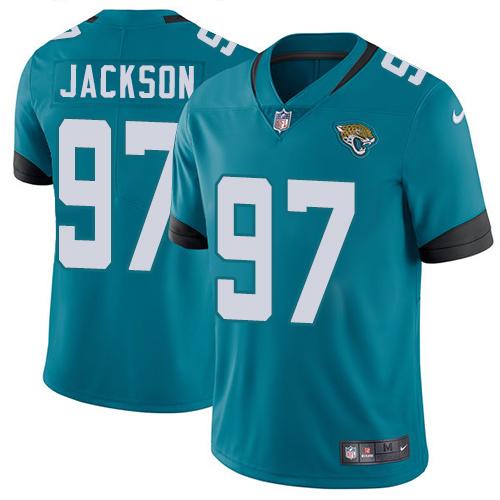 Nike Jaguars #97 Malik Jackson Teal Green Alternate Men's Stitched NFL Vapor Untouchable Limited Jersey
