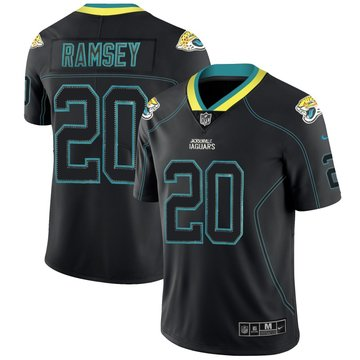 Nike Jaguars 20 Jalen Ramsey Black Shadow Legend Limited Jersey