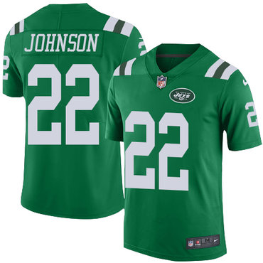 Nike Jets #22 Trumaine Johnson Green Youth Stitched NFL Limited Rush Jersey