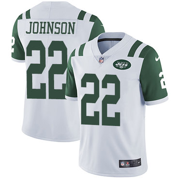 Nike Jets #22 Trumaine Johnson White Youth Stitched NFL Vapor Untouchable Limited Jersey