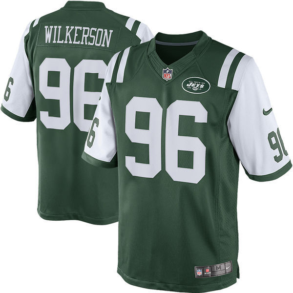 Nike Jets 96 Muhammad Wilkerson Green Limited Jersey