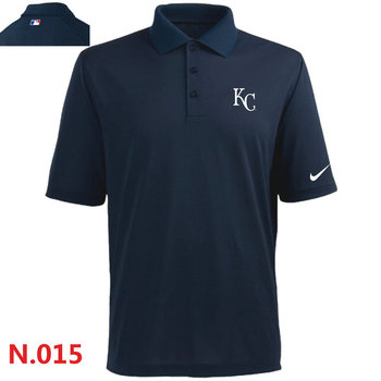 Nike Kansas City Royals 2014 Players Performance Polo -Dark biue