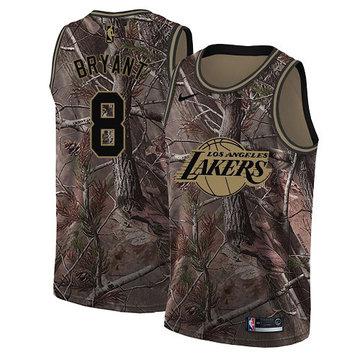 Nike Lakers #8 Kobe Bryant Camo NBA Swingman Realtree Collection Jersey