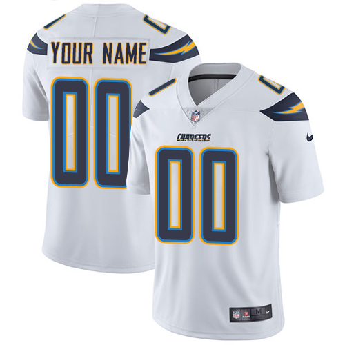 Nike Los Angeles Chargers Limited White Road Men's Jersey NFL  Vapor Untouchable Customized jerseys