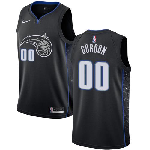 Nike Magic #00 Aaron Gordon Black NBA Swingman City Edition 2018 19 Jersey