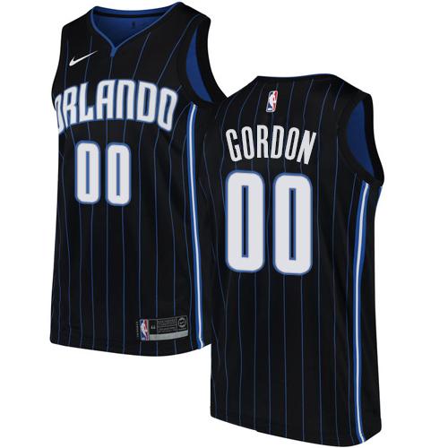 Nike Magic #00 Aaron Gordon Black NBA Swingman Statement Edition Jersey