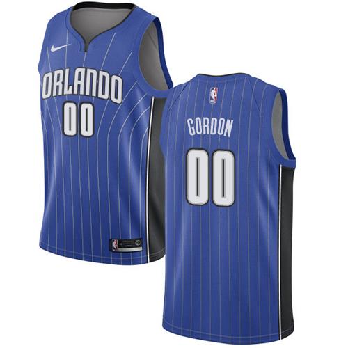 Nike Magic #00 Aaron Gordon Royal NBA Swingman Icon Edition Jersey