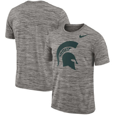 Nike Michigan State Spartans 2018 Player Travel Legend Performance T Shirt