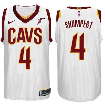 Nike NBA Cleveland Cavaliers #4 Iman Shumpert Jersey 2017 18 New Season White Jersey