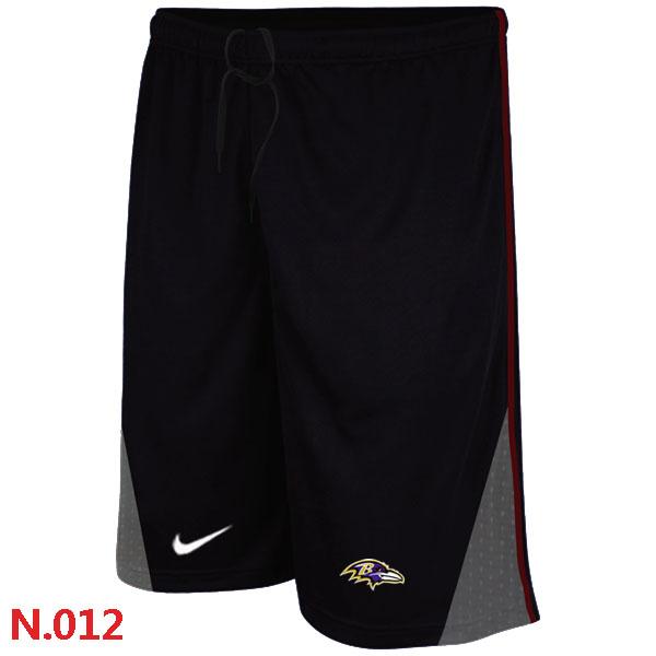 Nike NFL Baltimore Ravens Classic Shorts Black