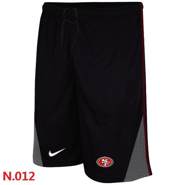 Nike NFL San Francisco 49ers Classic Shorts Black