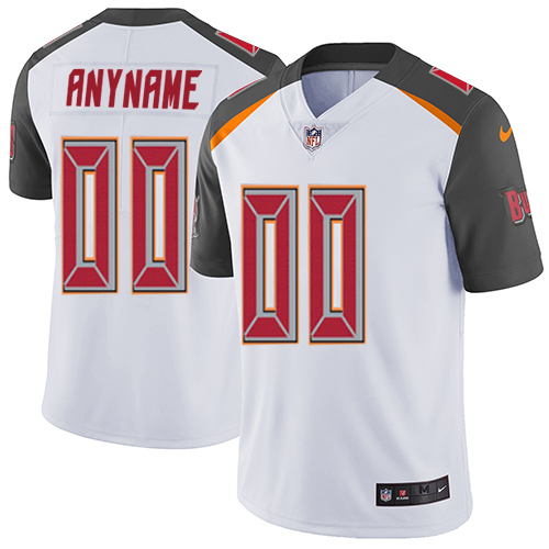 Nike NFL Tampa Bay Buccaneers Vapor Untouchable Customized Elite White Road Youth Jersey