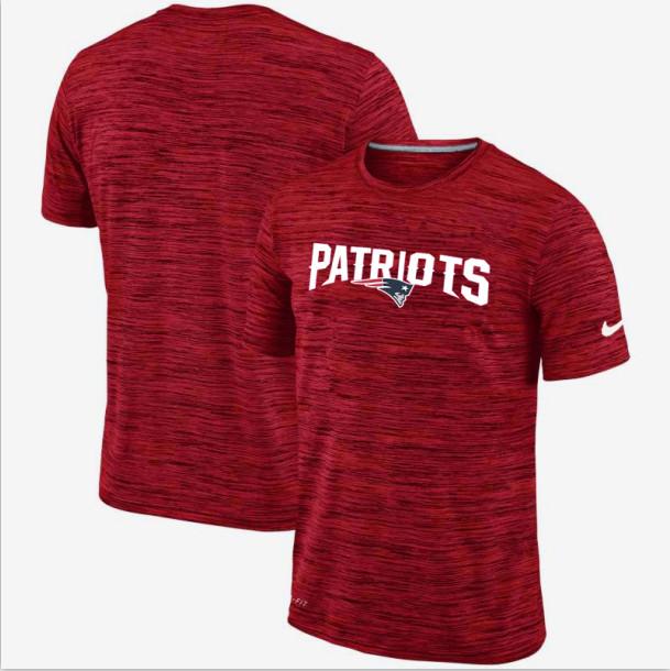 Nike New England Patriots Red Velocity Performance T-Shirt