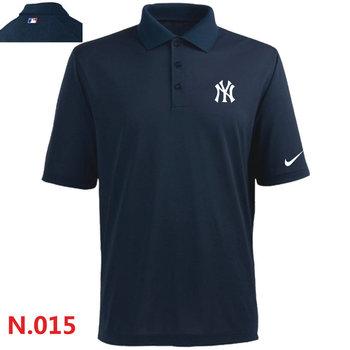 Nike New York Yankees 2014 Players Performance Polo -Dark biue