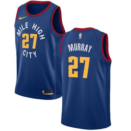 Nike Nuggets #27 Jamal Murray Blue NBA Swingman Statement Edition Jersey