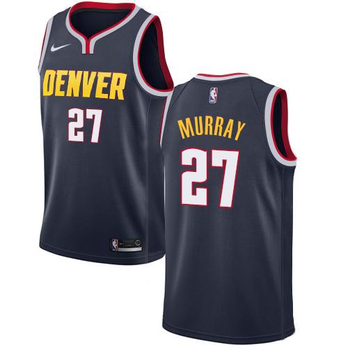 Nike Nuggets #27 Jamal Murray Navy NBA Swingman Icon Edition Jersey