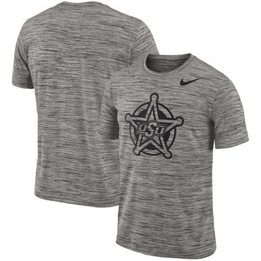 Nike Oklahoma State Cowboys 2018 Player Travel Legend Performance T Shirt