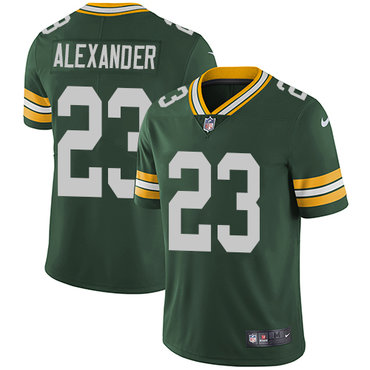 Nike Packers #23 Jaire Alexander Green Team Color Youth Stitched NFL Vapor Untouchable Limited Jersey