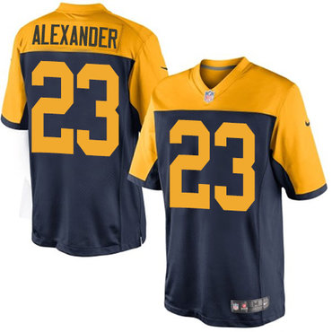 Nike Packers #23 Jaire Alexander Navy Blue Alternate Youth Stitched NFL New Limited Jersey