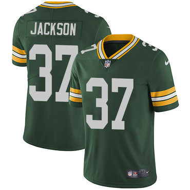 Nike Packers #37 Josh Jackson Green Team Color Youth Stitched NFL Vapor Untouchable Limited Jersey
