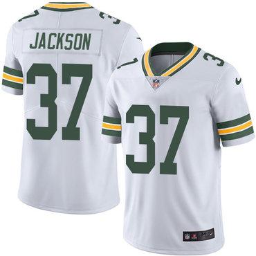 Nike Packers #37 Josh Jackson White Youth Stitched NFL Vapor Untouchable Limited Jersey