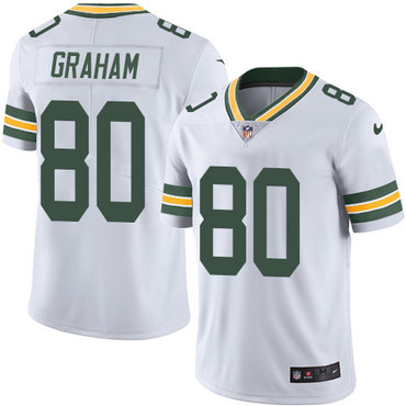 Nike Packers #80 Jimmy Graham White Youth Stitched NFL Vapor Untouchable Limited Jersey