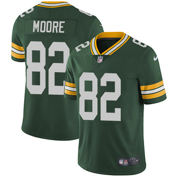 Nike Packers #82 J'Mon Moore Green Team Color Men's Stitched NFL Vapor Untouchable Limited Jersey