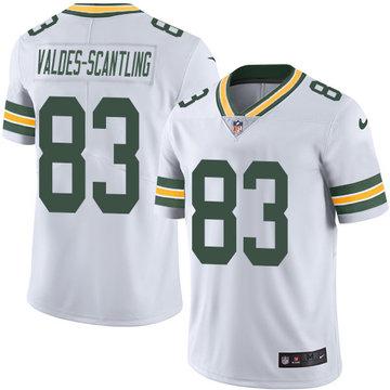 Nike Packers #83 Marquez Valdes-Scantling White Men's Stitched NFL Vapor Untouchable Limited Jersey