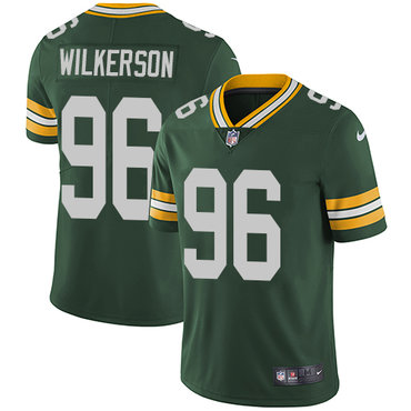 Nike Packers #96 Muhammad Wilkerson Green Team Color Youth Stitched NFL Vapor Untouchable Limited Jersey