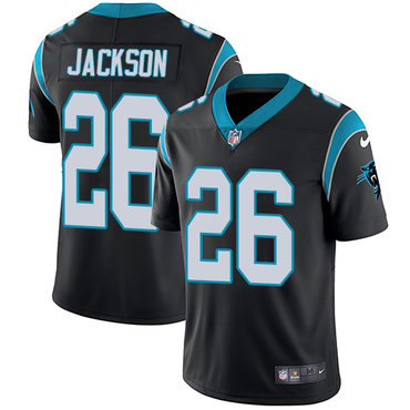 Nike Panthers #26 Donte Jackson Black Team Color Youth Stitched NFL Vapor Untouchable Limited Jersey