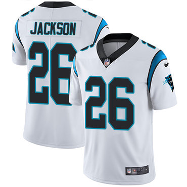 Nike Panthers #26 Donte Jackson White Youth Stitched NFL Vapor Untouchable Limited Jersey