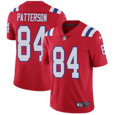 Nike Patriots #84 Red Vapor limited Jersey