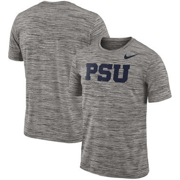 Nike Penn State Nittany Lions 2018 Player Travel Legend Performance T Shirt