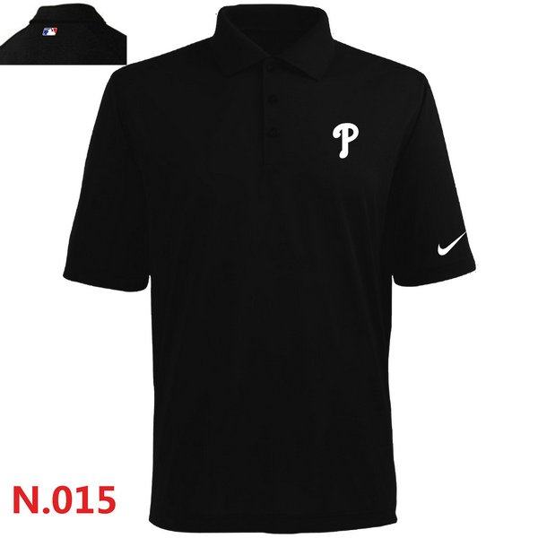 Nike Philadelphia Phillies 2014 Players Performance Polo -Black 2