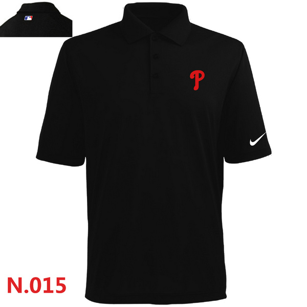Nike Philadelphia Phillies 2014 Players Performance Polo -Black