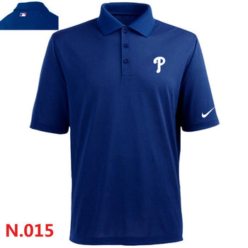 Nike Philadelphia Phillies 2014 Players Performance Polo -Blue 2