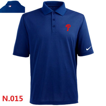 Nike Philadelphia Phillies 2014 Players Performance Polo -Blue
