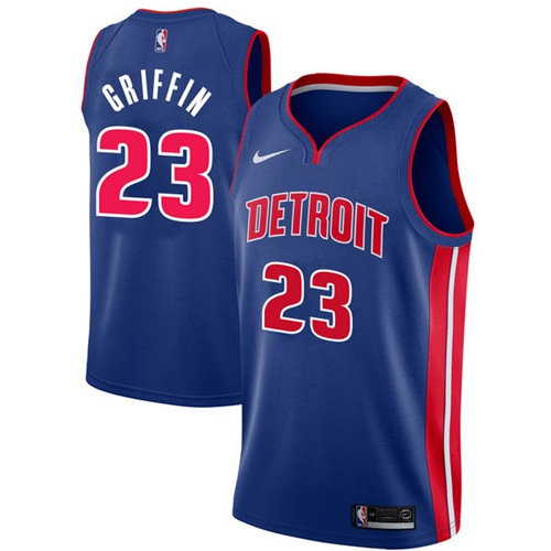 Nike Pistons #23 Blake Griffin Blue NBA Swingman Icon Edition Jersey