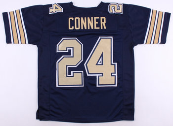Nike Pitt Panthers #24 James Conner Alumni Football Navy Jersey