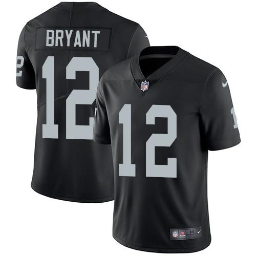 Nike Raiders #12 Martavis Bryant Black Team Color Men's Stitched NFL Vapor Untouchable Limited Jersey