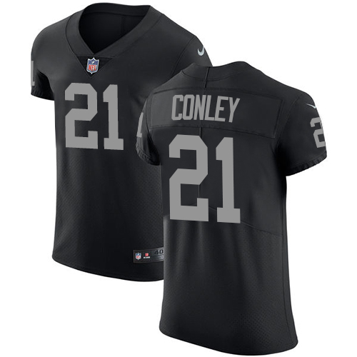 Nike Raiders #21 Gareon Conley Black Team Color Men's Stitched NFL Vapor Untouchable Elite Jersey